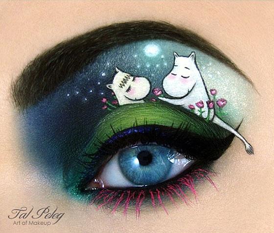 Tal peleg - eye art - muminki
