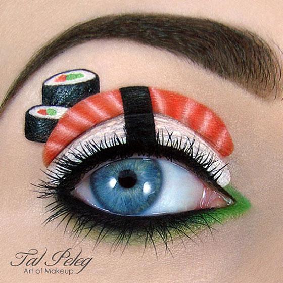 Tal peleg - eye art - sushi