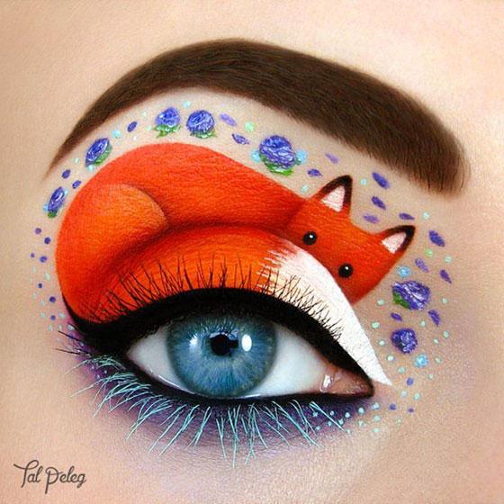 Tal peleg - eye art - lis