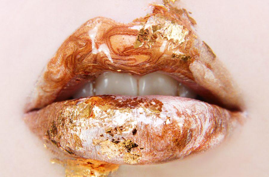 Makijaż ust na walentynki - lipart wykonany kosmetykami SINSKIN