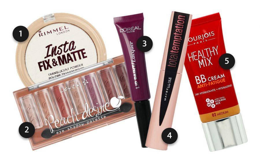 Przegląd kosmetyków do makijażu