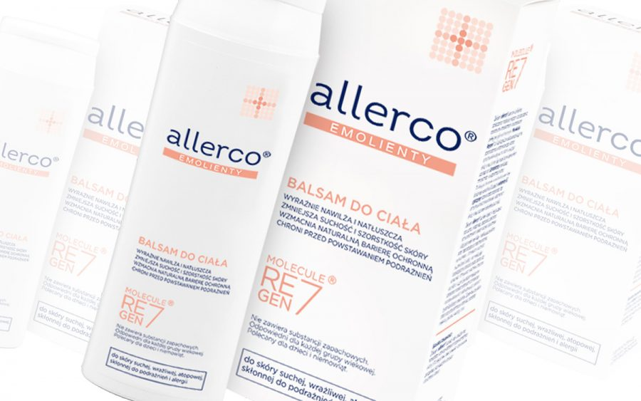Allerco - balsam do ciała do skóry wrażliwej