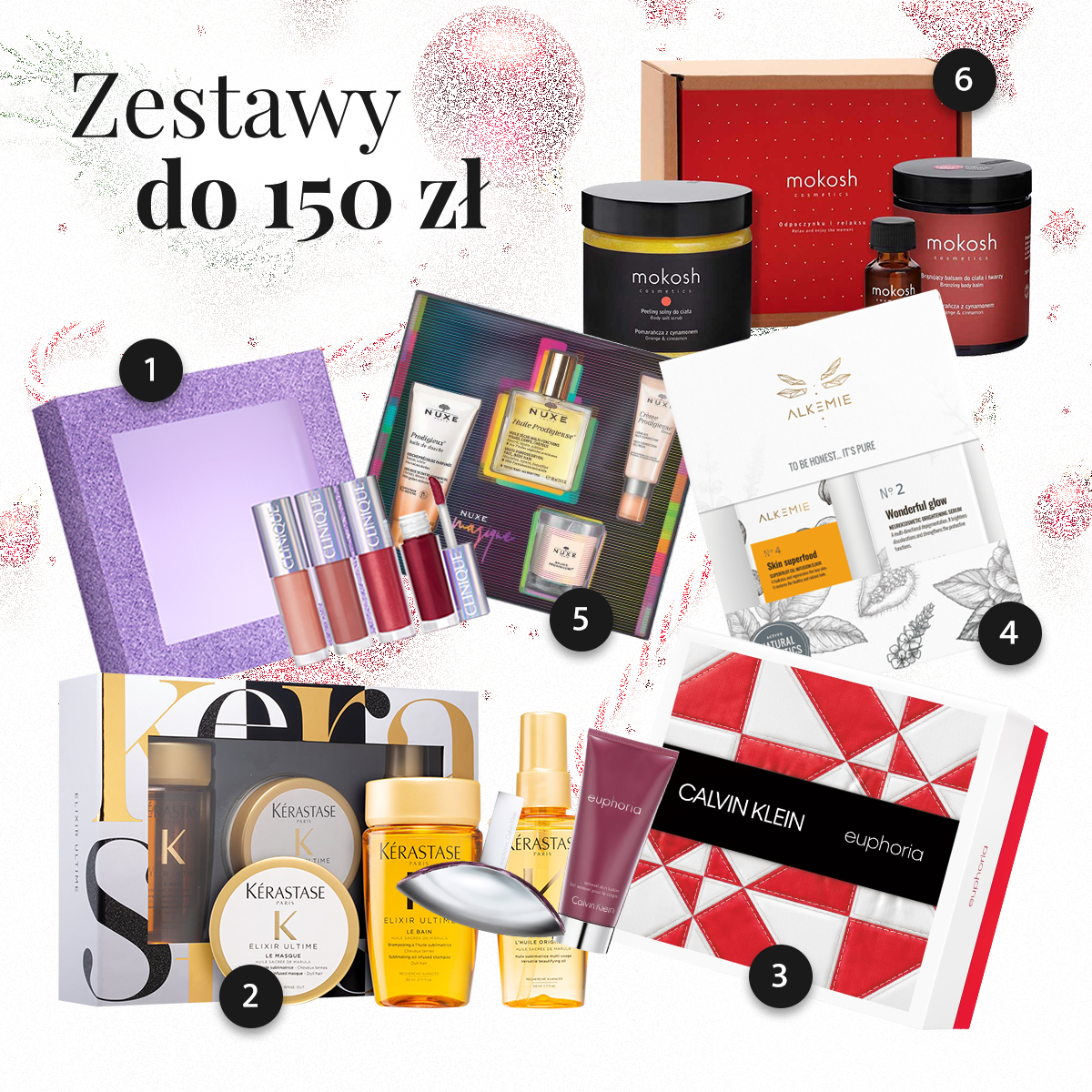Zestawy kosmetyków na prezent do 150 złotych