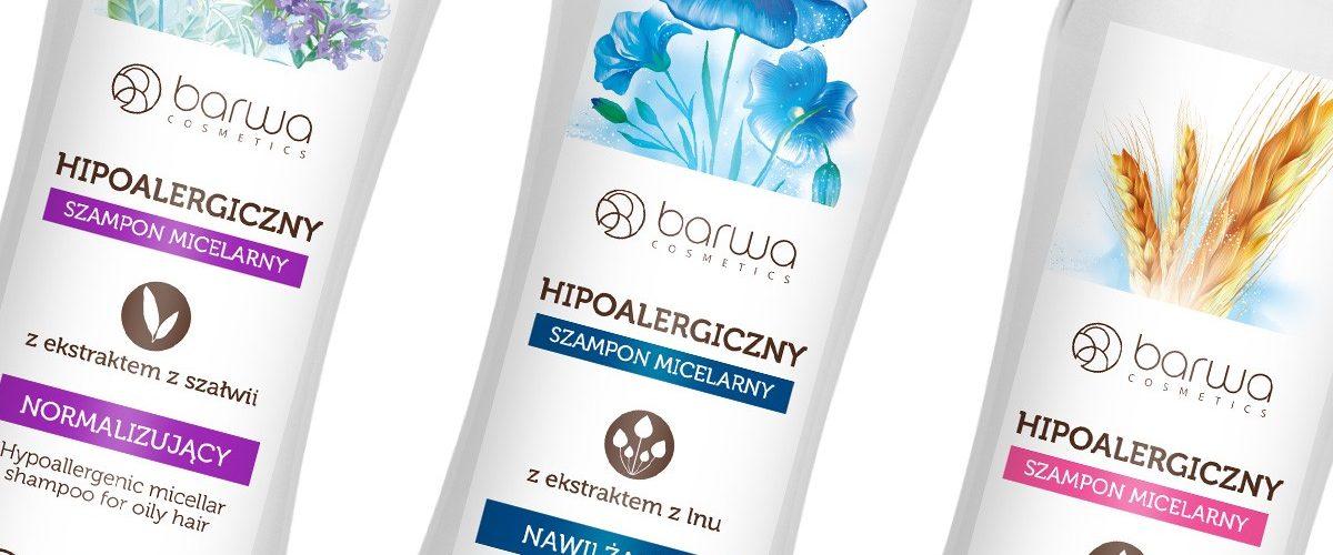 Barwa Hipoalergiczne Szampony Micelarne – naturalna pielęgnacja włosów