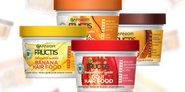 Garnier Fructis Hair Food – nowy sposób na naturalne odżywienie włosów!