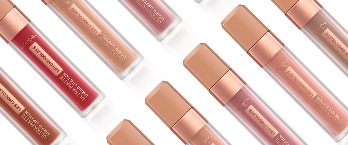 L'Oréal Les Chocolats – matowe szminki o czekoladowym zapachu!