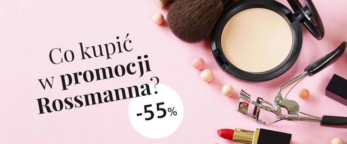 – 55% na kosmetyki do makijażu w Rossmann – co warto kupić? Poznaj nasz TOP 5!