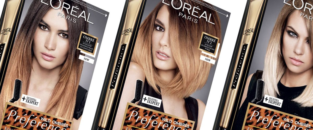 Ombre hair w domu czyli L'Oréal Préfèrence Wild Ombrés