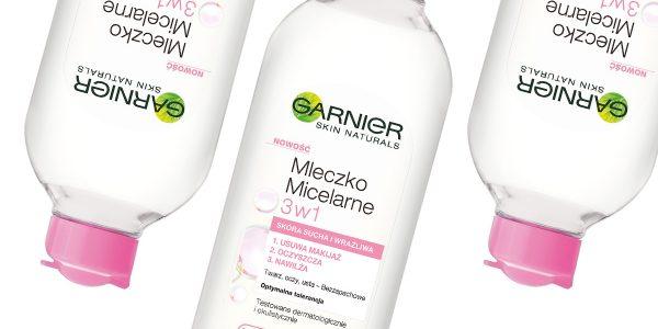Garnier – mleczko micelarne 3w1 do skóry suchej i wrażliwej