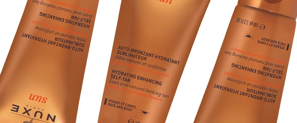 NOWOŚĆ! Nuxe Sun – jedwabisty balsam samoopalający do twarzy i ciała